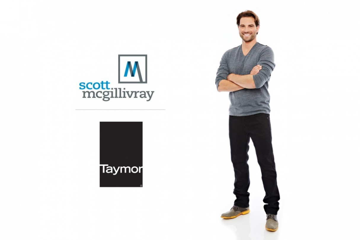 Scott McGillivray Partners with Taymor Industries