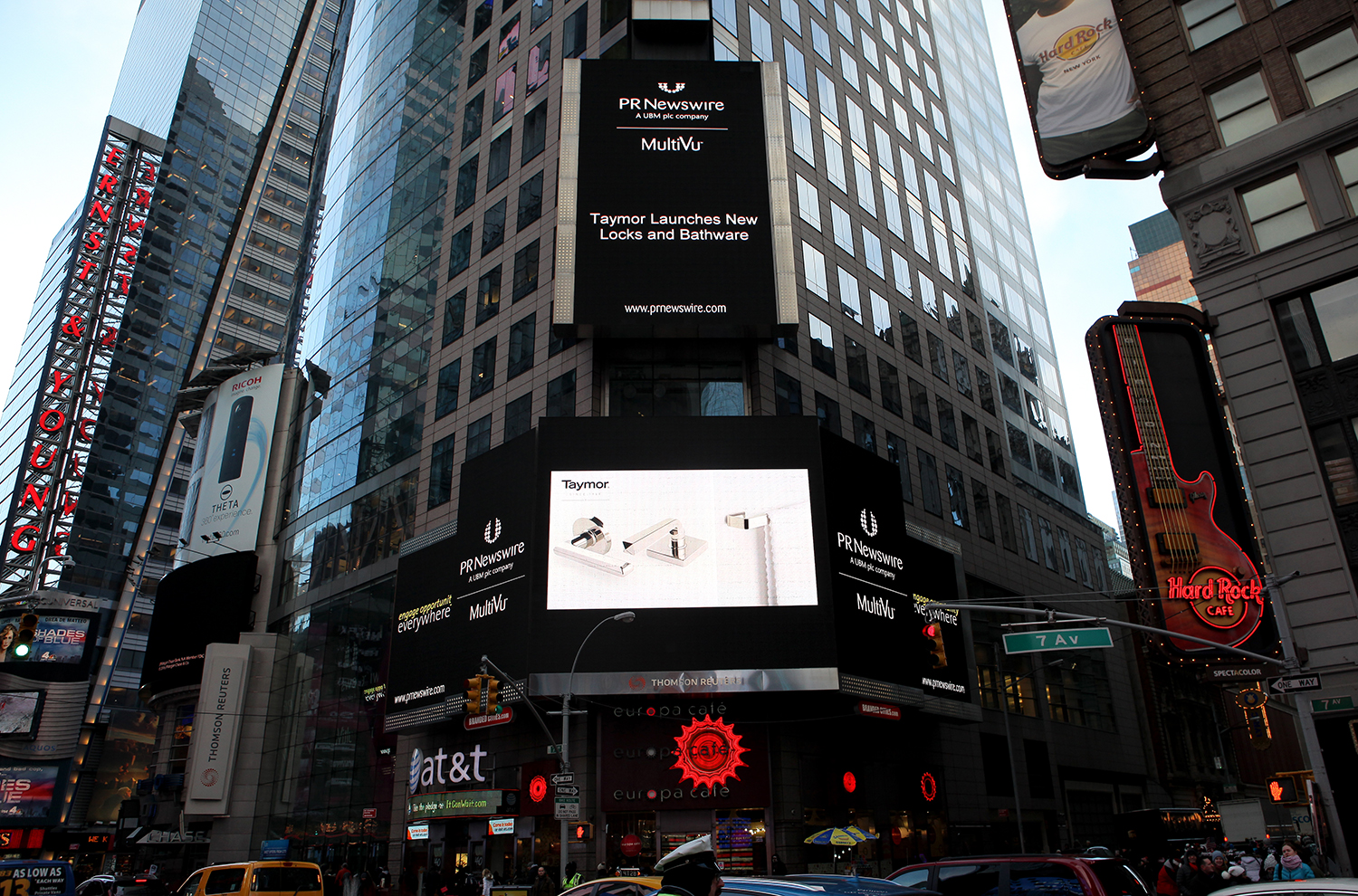 News events taymor canada for Activities in times square