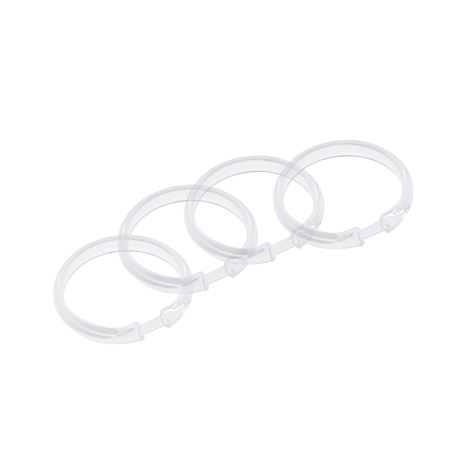Plastic Shower Curtain Rings