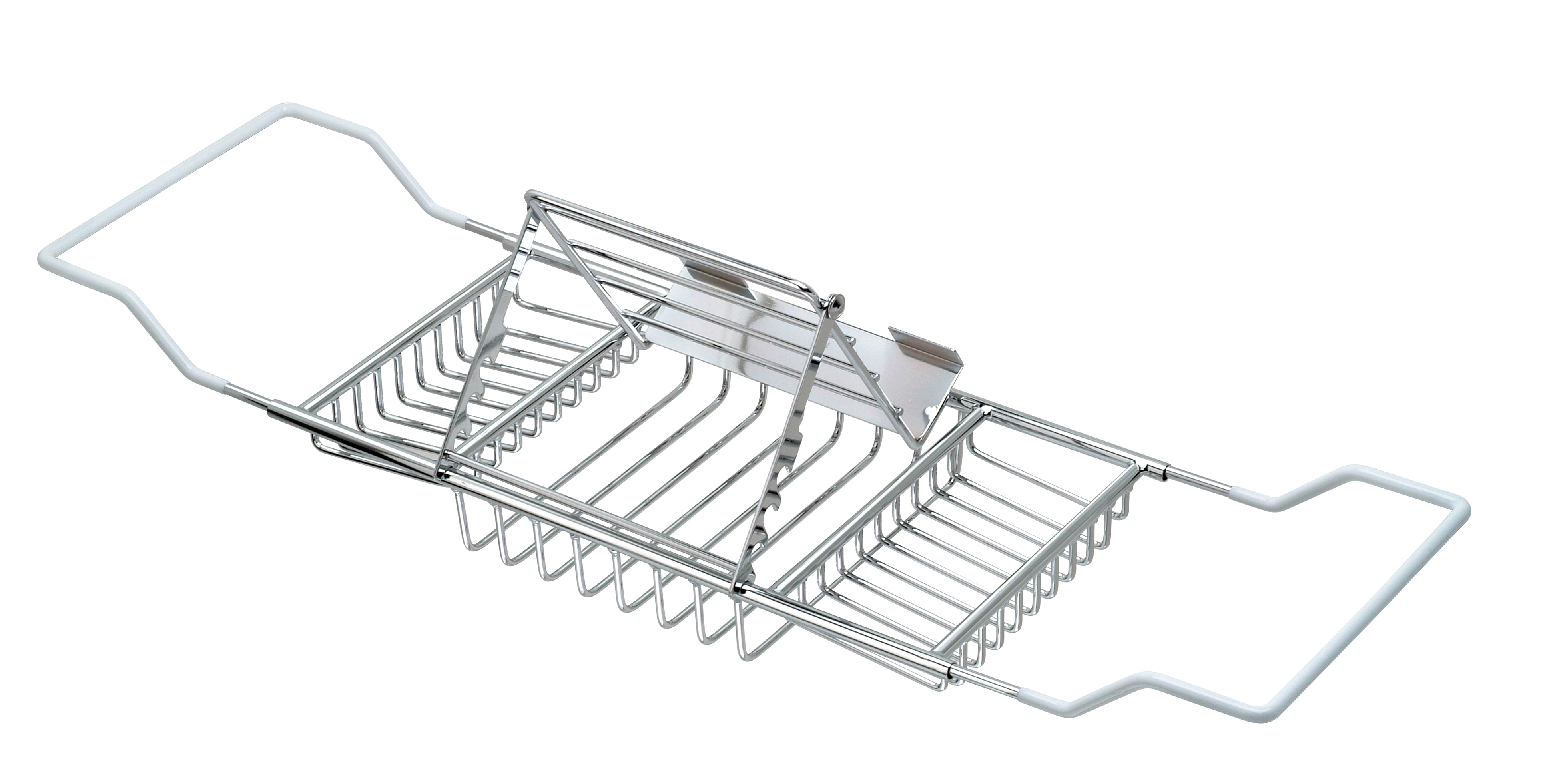 Bathtub Caddy with Adjustable Reading Rack - Bathtub Caddy | Taymor ...
