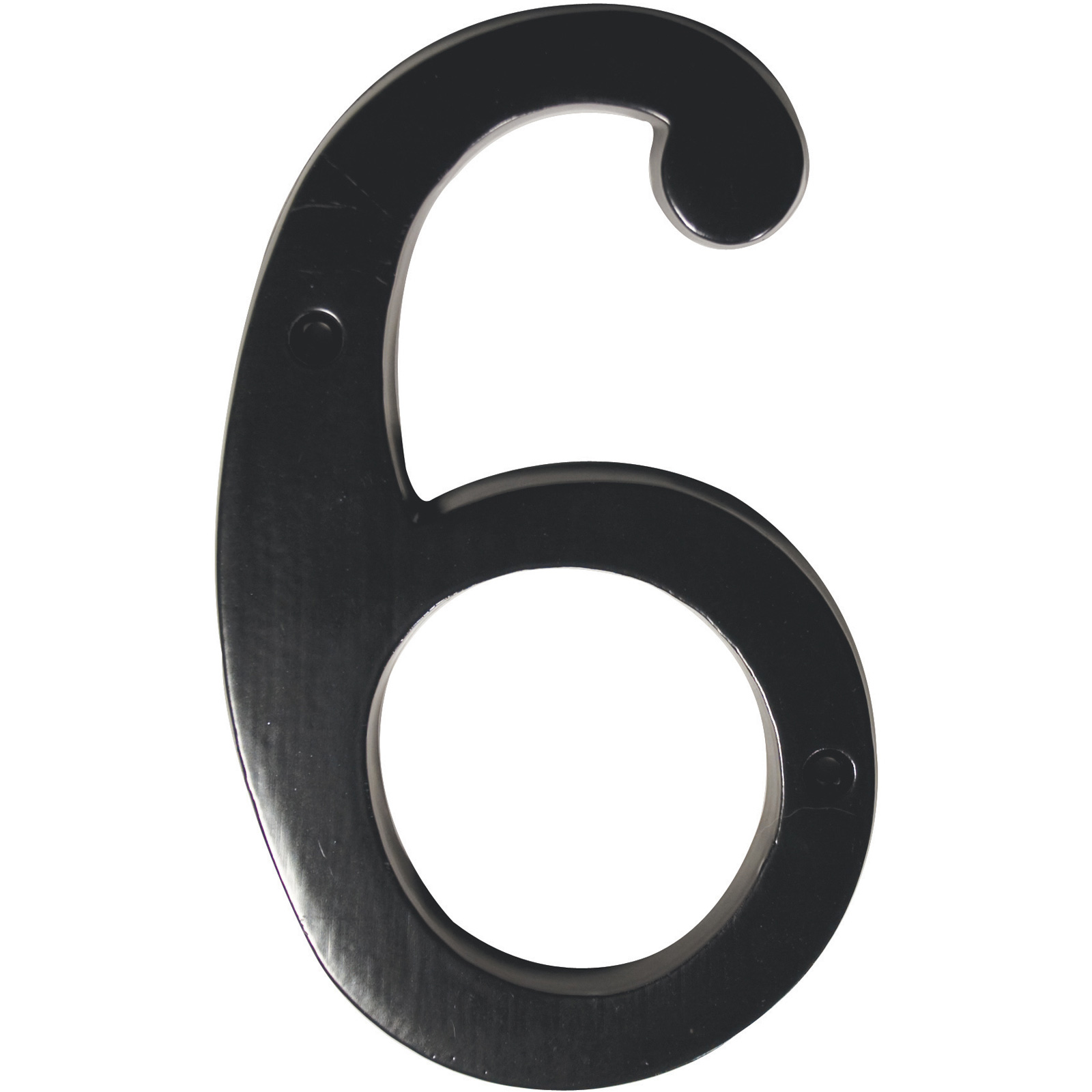 Classic style aluminum house numbers house numbers for Classic house numbers