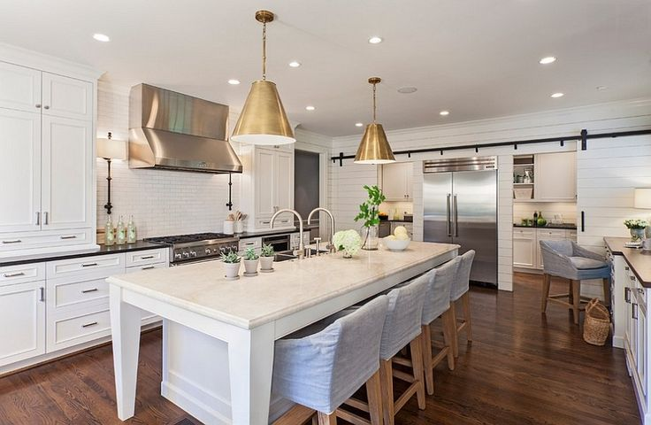 The Modern Farmhouse Kitchen