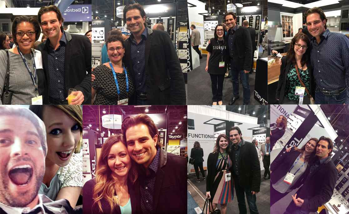 Taymor's Selfie With Scott McGillivray