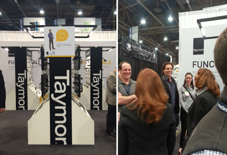 Taymo'r Trade Booth at KBIS
